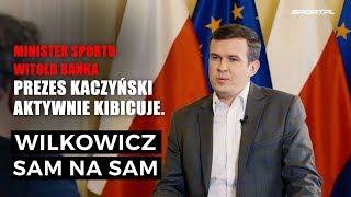 Minister Sportu Witold Bańka gościem Sam na Sam.
