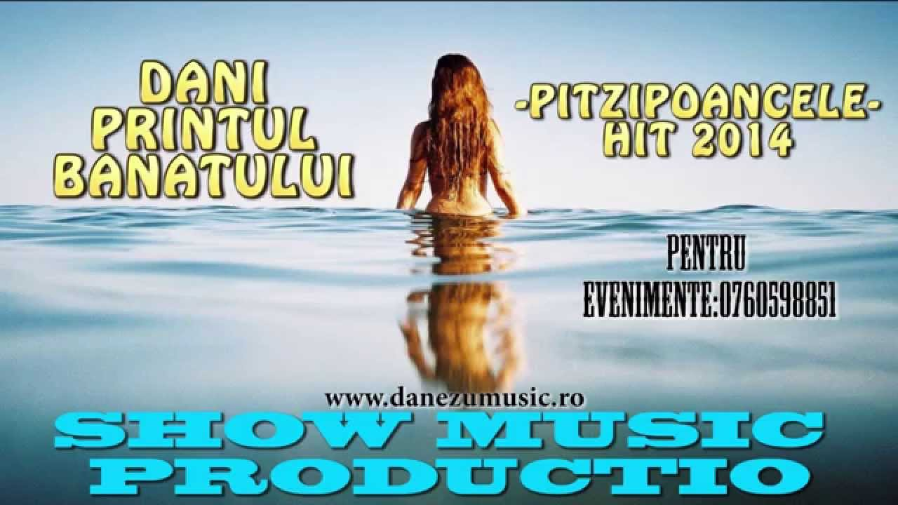 DANI PRINTUL BANATULUI - PITZIPOANCELE ( produced SHOW MUSIC PRODUCTION)  HIT 2015  OFFICIAL TRACK