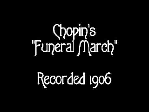 1906  Edison Concert Band  Chopins Funeral March