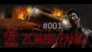 Let's Play Zombie Panic! Source #001 [Deutsch][HD] -Der Beginn
