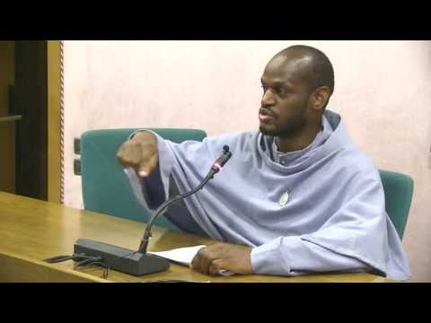 """Rome. """"General Confession"""" (part 2): Conference by Fr Pio Idowu FI. A Day With Mary. 2013"""