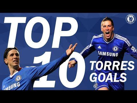 Chelsea Top 10 | Fernando Torres Goals For Chelsea