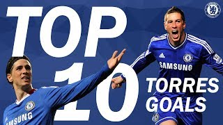 TOP 10: Fernando Torres Goals | Chelsea Tops