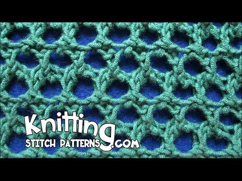Grand Picot Eyelet Stitch Youtube
