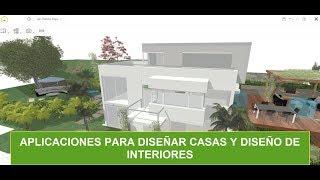 Aplicaciones para diseñar casas y diseño de interiores