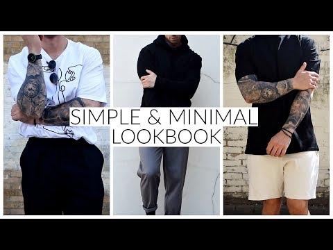 3 MINIMAL/SIMPLE OUTFIT IDEAS | Lookbook | Men's Fashion | Daniel Simmons