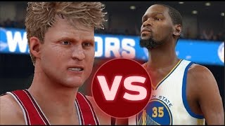 can kevin durant hit 100 three pointers before steve kerr can nba 2k17 challenge