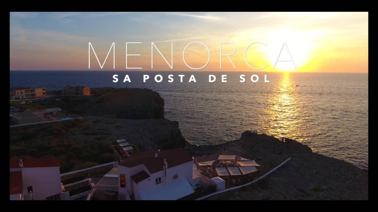 Sa Posta De Sol Menorca Calan Blanes Be Creative Menorca Youtube