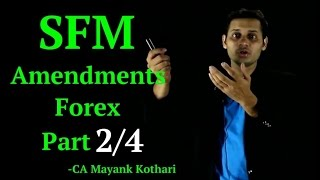 CA Final SFM - Forex Amendment Part 2/4 Delivery of Forward Contracts
