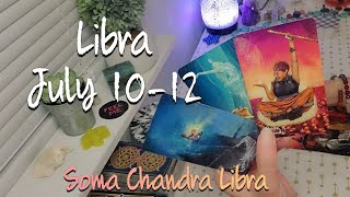 "Libra July 10-12 ""You're starting new cycles in the Sun, they are in the shadow"""