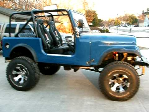 1986 Jeep Cj7 For Sale 8 500 Youtube