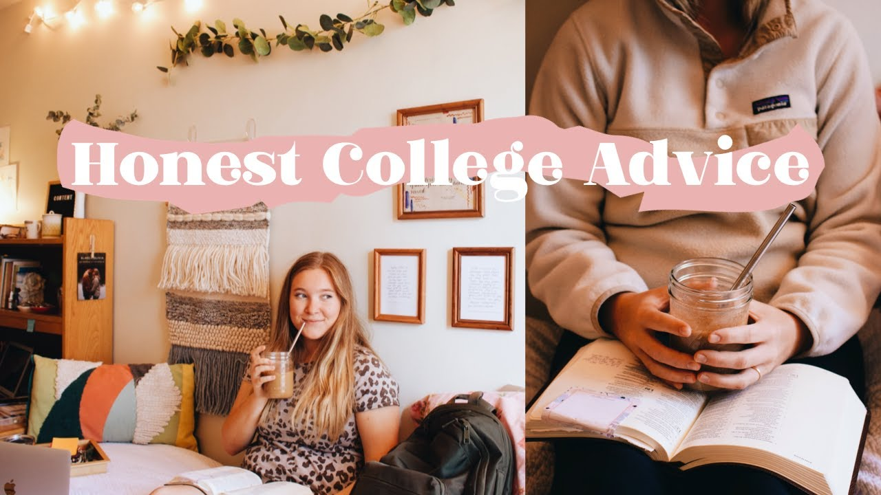 8 things I've learned my FIRST month of College // Freshman Year