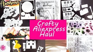 Crafty Aliexpress Haul 2019 with Samples and Cards