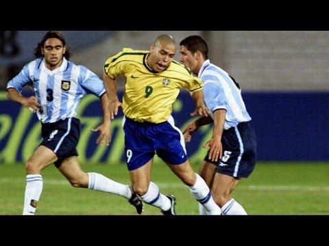 Ronaldo ► Brazil vs. Argentina ◄ 3.06.2004 ► (Penalty-Hattrick) 3:0