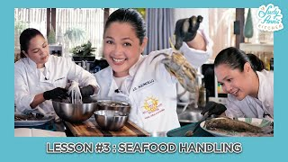 Lesson 3 : SEAFOOD HANDLING & FABRICATION | Judy Ann's Kitchen