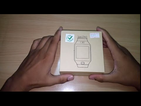 [HINDI] DZ09 Smart Watch : UNBOXING And First Look