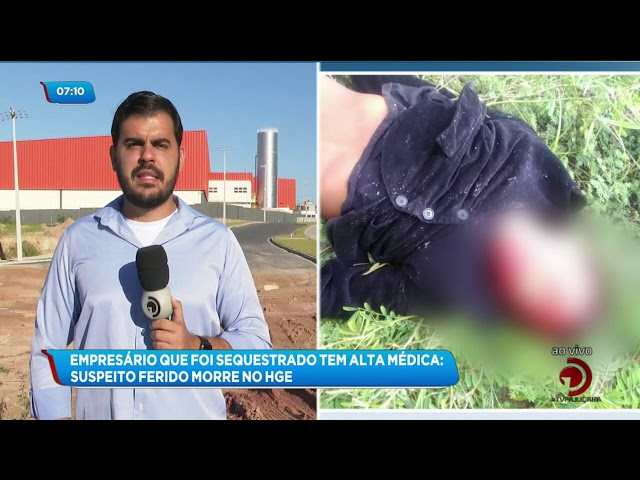 Empresário que foi sequestrado no bairro do Farol teve alta médica