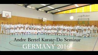 Andre Bertel Karate Seminar - Germany 2016
