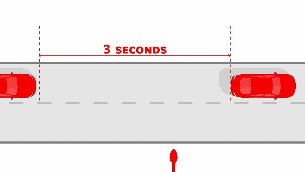 3-Second Rule for Safe Following Distance | Travelers Insurance