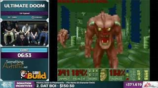 Ultimate Doom by Dime in 28:18 - SGDQ 2016 - Part 97