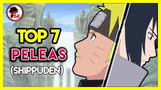 Naruto: Top 7 PELEAS de Naruto Shippuden