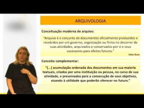Arquivologia para concursos públicos - Conceituação e Finalidades do Arquivo