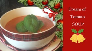 Classic cream of tomato soup recipe & cook with me :)