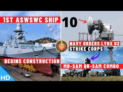 Download Indian Defence Updates : 1st ASWSWC Begins,10 LYNX-U2 Order,20 LD By BEL,MR-SAM For Strike Corps