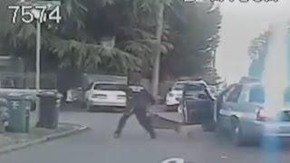 Police Chase, K9 Takedown