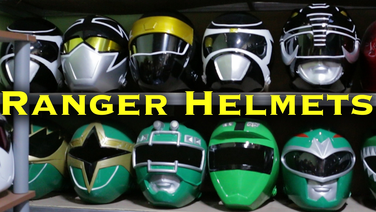 Where I Buy Power Ranger Helmets Power Rangers Vlogs Youtube