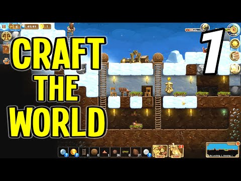 Craft The World 2019 - Getting Started On A Dwarf Fortress! - Episode 1