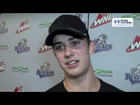 Dave Lowry and Ryan Peckford interview - Royals (9) vs Saskatoon Blades (3)