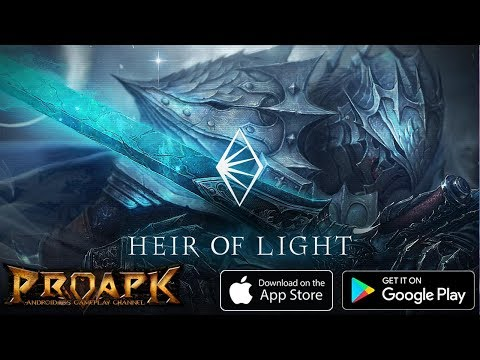 HEIR OF LIGHT ENGLISH Gameplay Android / iOS (by GAMEVIL) (CBT)