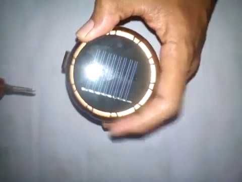 Bongkar Lampu Lentera Powerbank Panel Surya Youtube