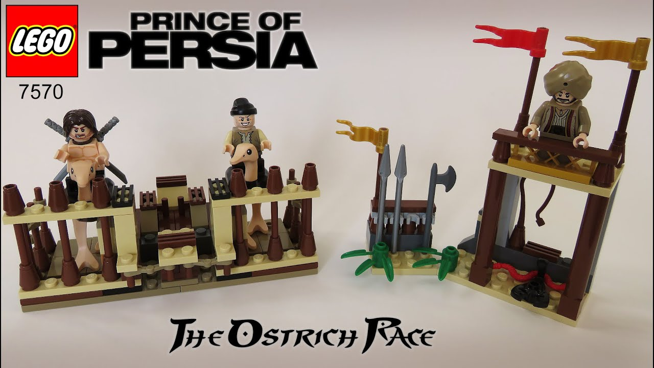 *NEW* LEGO Ostrich Jockey Minifigure from 7570 Prince of Persia Ostrich Race
