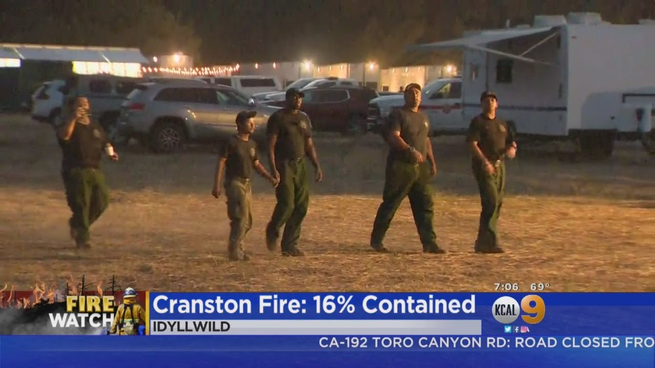 Cranston Fire Near Idyllwild Grows Overnight Friday, 7,000 Remain Evacuated