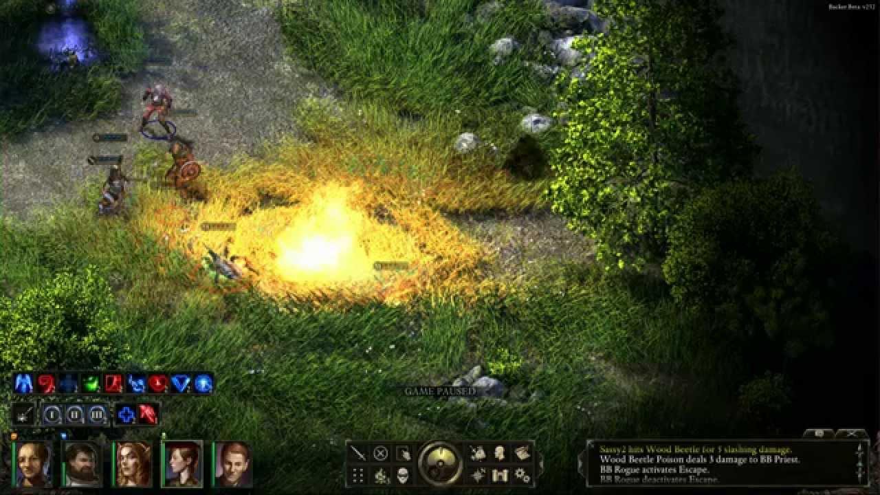Znalezione obrazy dla zapytania pillar of eternity gameplay