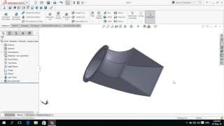 كيفية جعل/ إنشاء أنبوب L القوس مع مستديرة ومستطيلة الشفاه في سوليدووركس