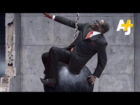 Zimbabwe's President Robert Mugabe Falls, Memes Rise