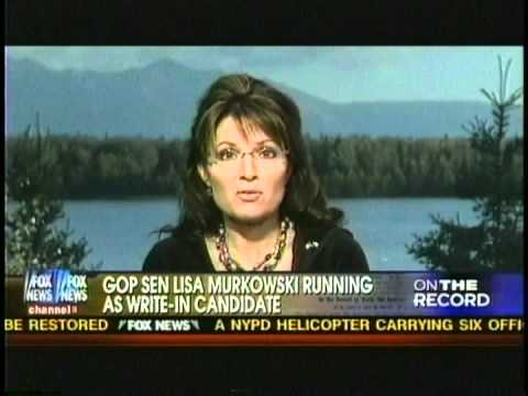 Sarah Palin comments on Midterm Election 2010 and run for President 2012