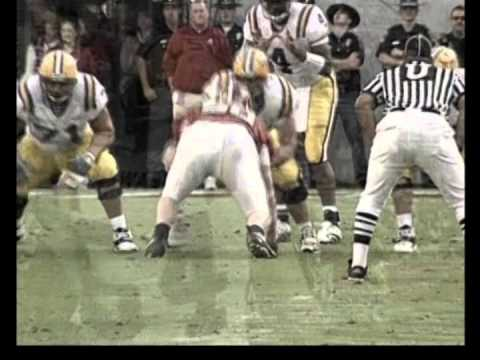2005 Campbell Trophy Winner Rudy Niswanger (LSU) - Highlights