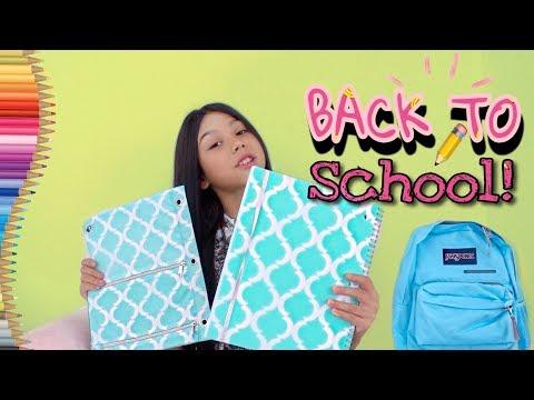 BACK TO SCHOOL SHOPPING 2018! & SCHOOL SUPPLIES HAUL | Txunamy