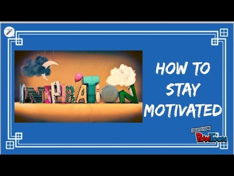 Motivation-How to keep yourself Motivated
