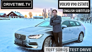 VOLVO V90 Estate AWD Inscription Test Sürüşü Türkçe / Test Drive (English Subtitled)