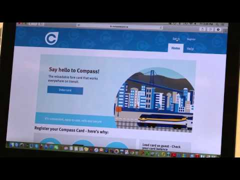 How To Check Your Travel History And Compass Card Balance Online