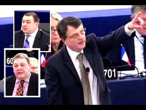 UKIP MEPs expose voting sham in the European Parliament