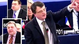 UKIP MEPs expose voting sham in the European Parliament