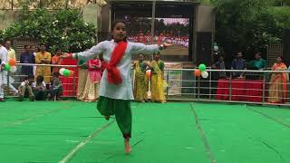 Independence Day special songs dance performance by Prisha on 15th August 2018