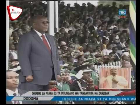 Rais Magufuli Akiwasili Uwanja Wa Jamhuri Dodoma