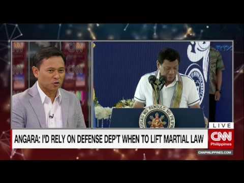 """The Source' speaks to Senator Sonny Angara"